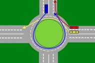 Rondo jest specyficznym rodzajem skrzyżowania – zasady zachowania na nim budzą jednak wątpliwości wśród doświadczonych kierowców i powodują przerażenie wśród osób zdających na prawo jazdy.