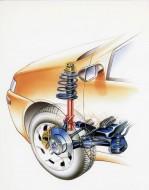 Jeśli zauważymy, że kierownica w naszym aucie obraca się z podejrzanym oporem, może to być wina łożyska kolumny zawieszenia fot. Fiat